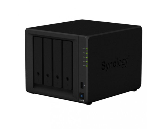 Synology DS918+ 4x0HDD 2xM.2 4GB 4x1.5Ghz 2xGbE 2xUSB AES-NI