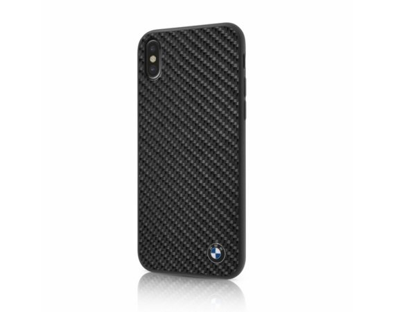 BMW Hardcase BMHCPXMBC iPhone X czarny Carbon