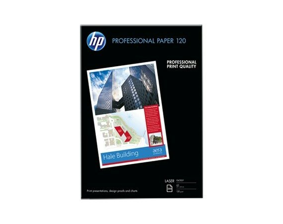 HP Inc. PAP PROF LASER GLOSSY 120g A3 250ark    CG969A
