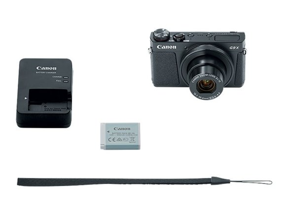 Canon Powershot G9X MARK II BLACK 1717C002AA
