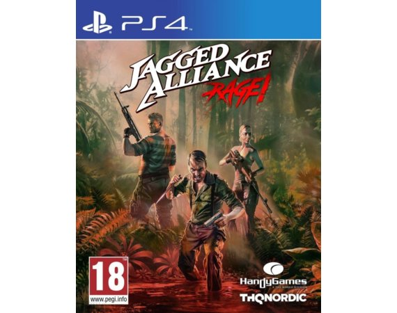 Cenega Gra PS4 Jagged Alliance Rage