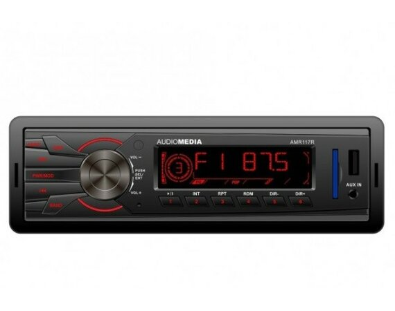 AUDIOMEDIA AMR117R FM SD USB 4 x 20WATT