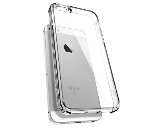 SPIGEN SGP  Ultra Hybrid Clear Etui iPhone SE/5/5S