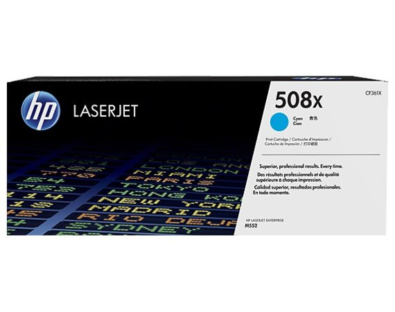 HP Inc. Toner 508X High Yield Cyan 9,5k CF361X