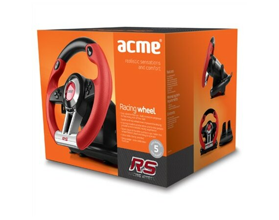 ACME Europe Kierownica do PC RS