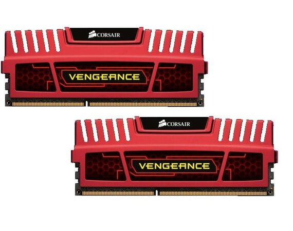 Corsair DDR3 VENGEANCE 16GB/1866 (2*8GB) CL10-11-10-30 RED