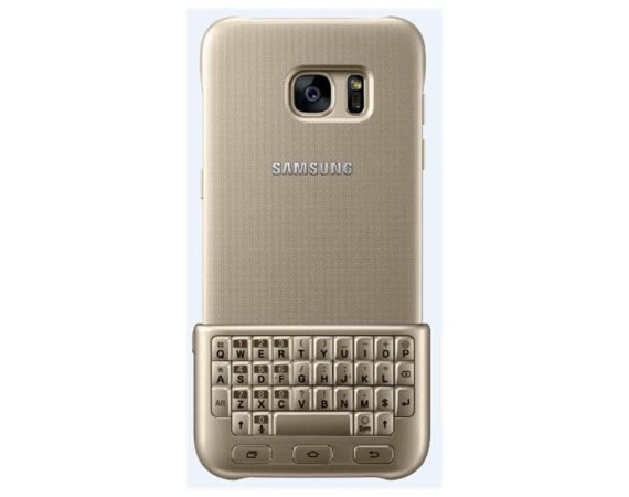 Samsung Keyboard Cover Galaxy S7 Gold
