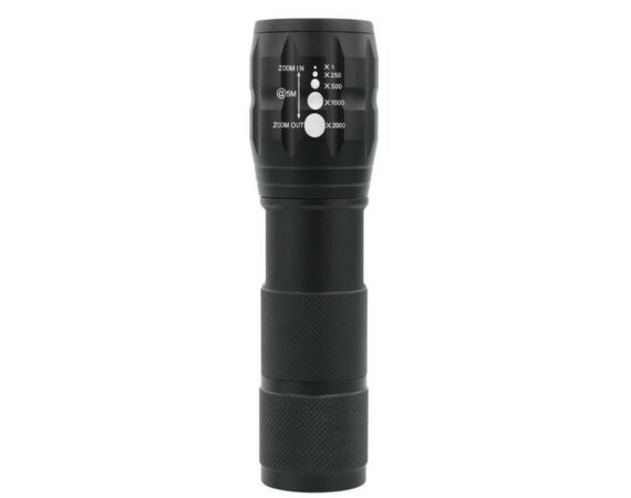 Ansmann Latarka profesjonalna HC Zoom Flashlight LED 5W