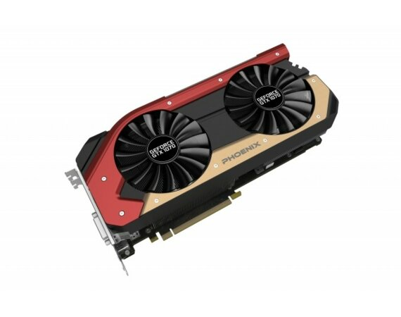 Gainward GeForce GTX 1070 Phoenix 8GB PCI-E DVI/HDMI/3DP