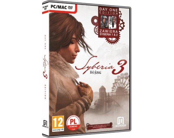 CD Projekt Gra PC Syberia 3