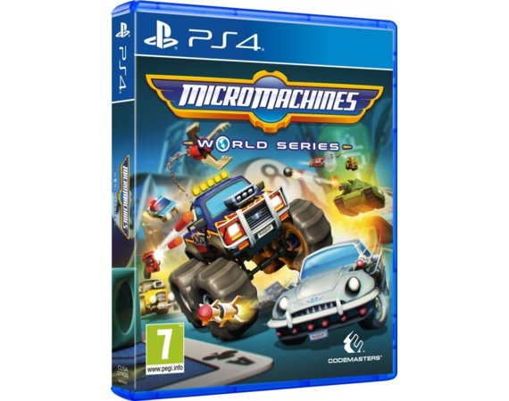 Techland Gra PS4 Micro Machines World Series D1