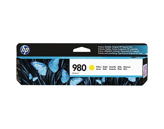 HP Inc. Tusz nr 980 Yellow D8J09A