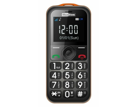 Maxcom MM 560 BB Poliphone/Big button Orange/Black