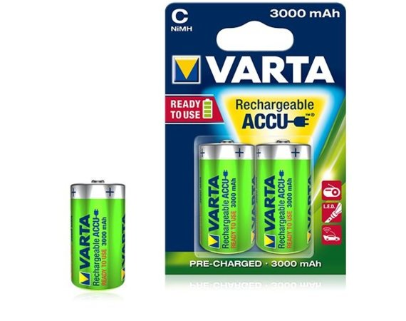 Varta Akumulator R14 3000mAh 2szt ready 2 use