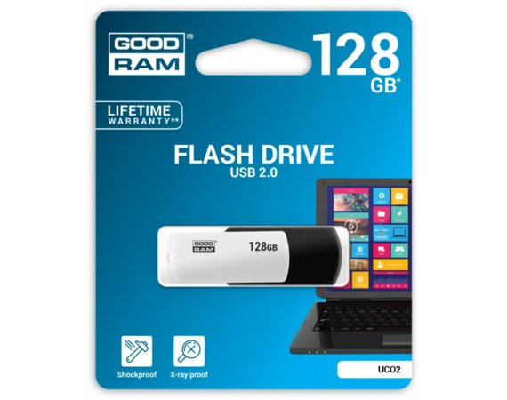 GOODRAM COLOUR BLACK&WHITE 128GB USB2.0