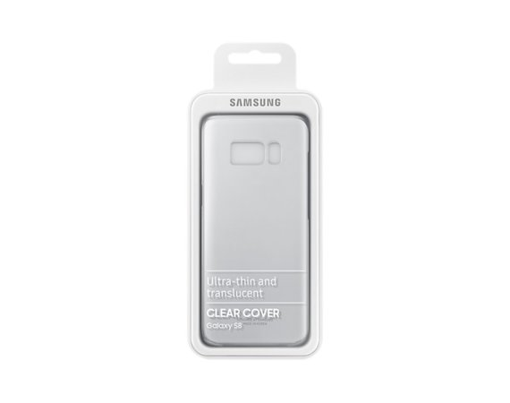 Samsung Clear Cover Galaxy S8 Silver