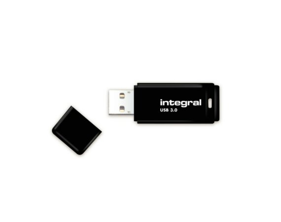Integral PENDRIVE 64GB USB 3.0 BLACK
