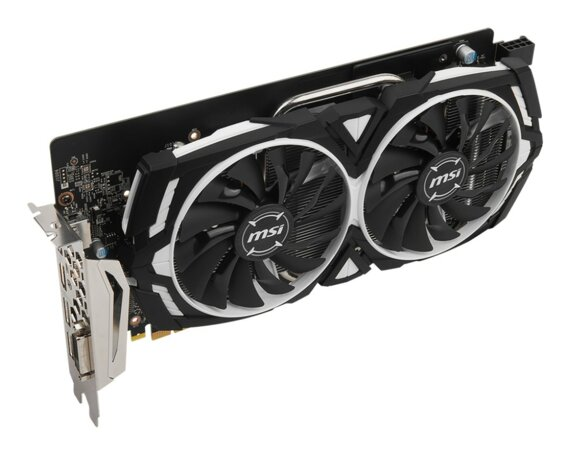 MSI GeForce GTX 1060 6GB ARMOR OC 192BIT DVI/HDMI/3DP