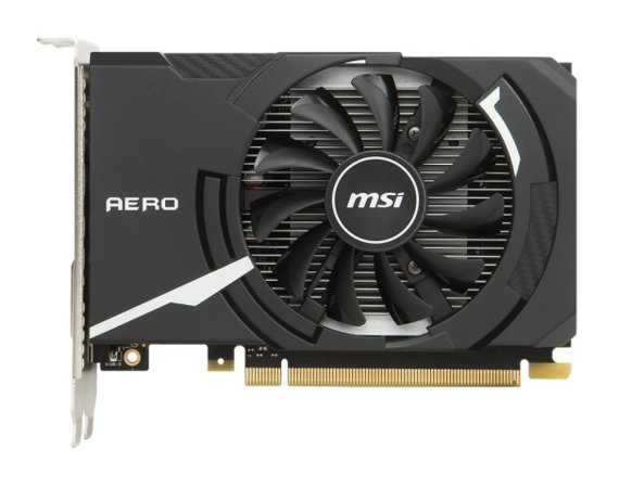 MSI GeForce GT 1030 2GB AERO ITX OC DDR5 64BIT DVI/HDMI