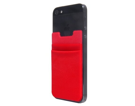 Thumbs Up Phone Pouch Red