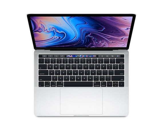 Apple Laptop MacBook Pro 13 Touch Bar, i5 2.3GHz quad-core/8GB/256GB SSD/Intel Iris Plus 655 - Silver