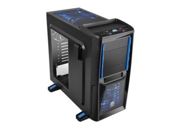 Thermaltake Chaser A41 USB 3.0 Window (2x120mm 200mm, LED), czarna