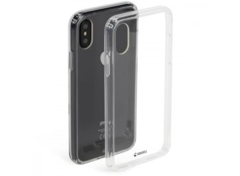 Krusell Apple iPhone X Kivik Cover Transparentny