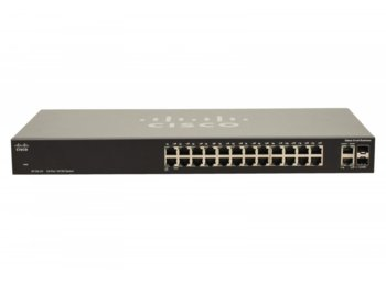 Cisco SB switch  SF102- 24 21x10/100 2xCOMBO
