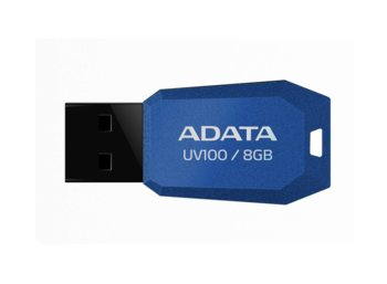 Adata DashDrive UV100 8GB USB2.0 niebieski- mini