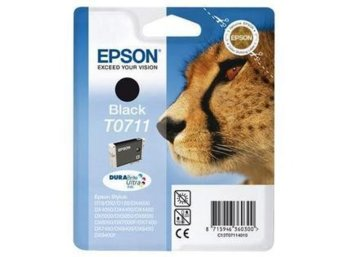 Epson Tusz T0711 Black do SX115/SX215/SX218/SX415