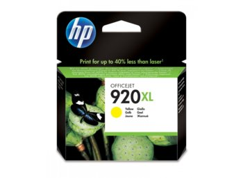 HP Tusz nr 920 Żółty XL CD974AE