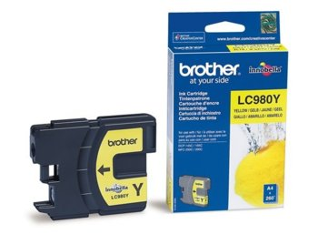 Brother Tusz LC980 ŻÓŁTY DCP-145C/165C