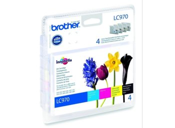 Brother CMYK multip LC970 DCP135/150/MFC235/260