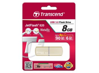Transcend JETFLASH 820  8GB USB3.0 Luxary Series 90/6 MB/s