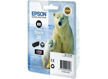 Epson Tusz T2611 PHOTO BLACK 4.7ml do XP-600/700/800