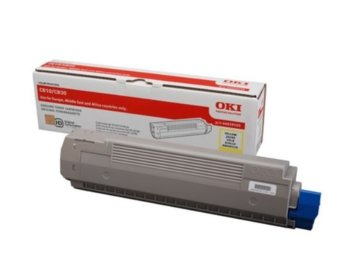 OKI Toner-C810/C830 YELLOW 8K  44059105