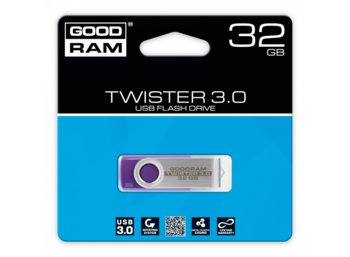 GOODRAM TWISTER PURPLE 32GB USB3.0
