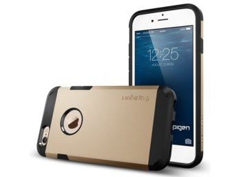 SPIGEN SGP  Etui Tough Armor Złoty iPhone 6