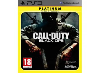 Activision Call of Duty Black Ops PS3 Platinum