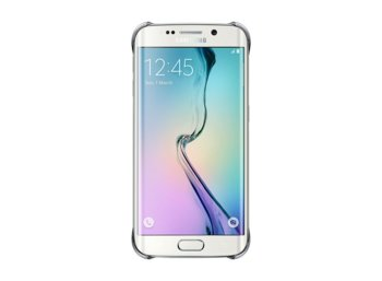Samsung Clear Cover S6 Edge SILVER
