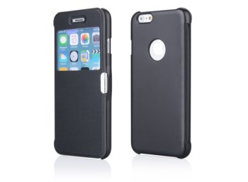 Global Technology FLIP CASE MAGNETIC IPHONE 6 (4.7) CZARNY