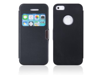 Global Technology FLIP CASE MAGNETIC IPHONE 5/5s CZARNY