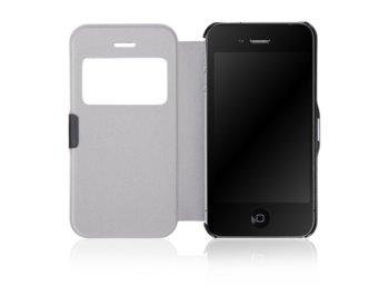 Global Technology FLIP CASE MAGNETIC IPHONE 4/4s CZARNY