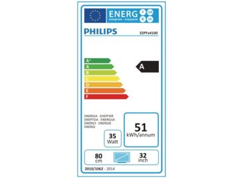 "Philips 32"" LED 32PFH4100"