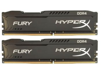 HyperX DDR4 HyperX Fury Black 16GB/2666 (2*8GB) CL15