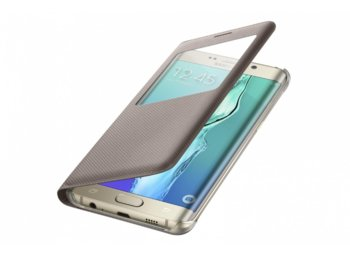 Samsung S View Cover Galaxy S6 Edge+ Złote