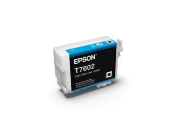 Epson T7602 Ink Cartridge Cyan UltraChrome HD