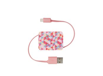 PNY Kabel Roll-it Charge & Sync Cable Multicolor C-UA-LN-PMC-RET-RB