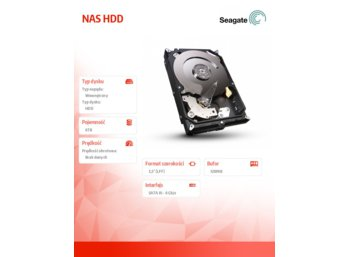 Seagate NAS HDD 3,5'' 6TB ST6000VN0021