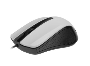Gembird Mysz OPTO 1-SCROLL USB (MUS-101-W) Black/White